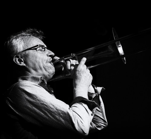 Finn Burich i Seaside Jazzklub april 2015